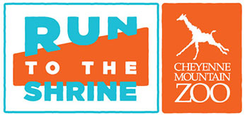 Run to the Shrine logo graphic